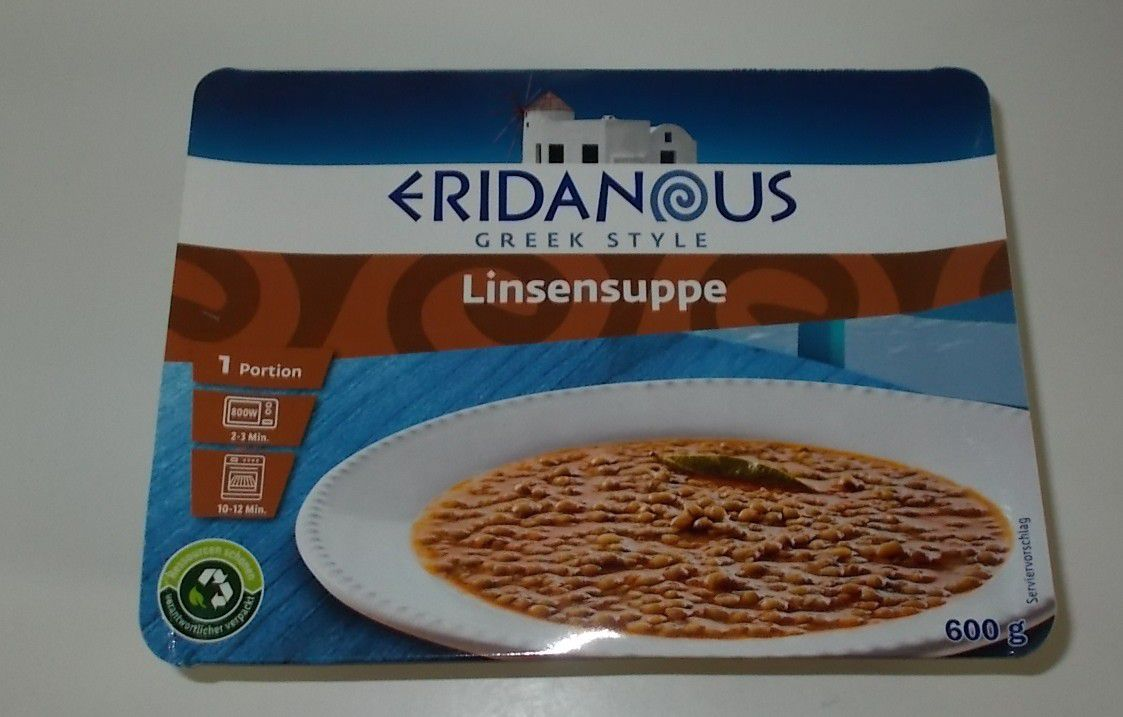 Lidl Eridanous Linsensuppe