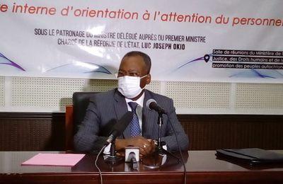 Congo/Réformes de l'Etat: Luc Joseph OKIO entend d'ici 2027 faire du ministère en charge de la réforme de l'Etat:«une institution moderne, efficace, innovante assurant un rôle essentiel dans la construction d'un Etat fort, au service des populations.