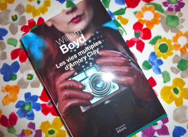 le nouveau roman de William Boyd