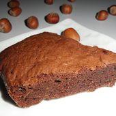 Moelleux chocolat noisette - ça ne sent pas un peu le brûlé là?
