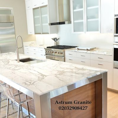 Get Best Arabescato Vagli Marble Kitchen Worktop for Home in London
