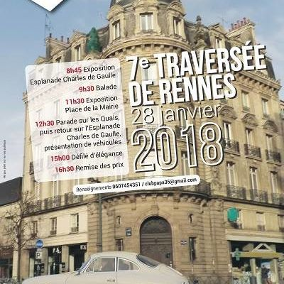 Traversée de Rennes 2018