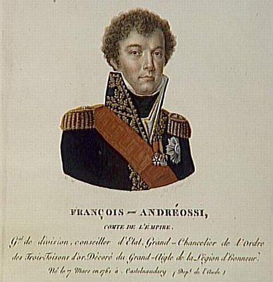 COMTE ANDRÉOSSY (1791-1828)
