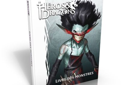 """""""Le Livre des Monstres"""" - de crocs et de griffes (pour H&D, D&D5)"""