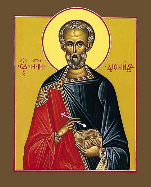 Saint Martyr Diomède le Physicien de Tarse, en Cilicia