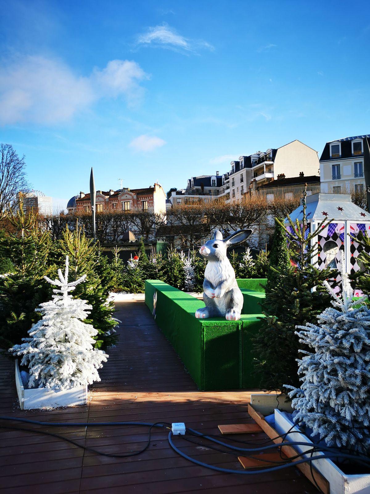 Exposition et décorations de Noël autour des contes à Puteaux