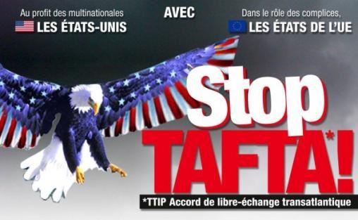 """Comment le soi-disant « accord » transatlantique TAFTA serait de l'échange """"Forcé"""" ?"""