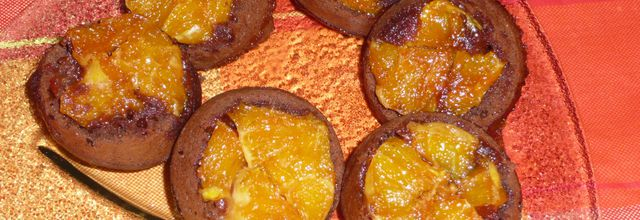 MUFFINS GOURMANDS CHOCO-ORANGE