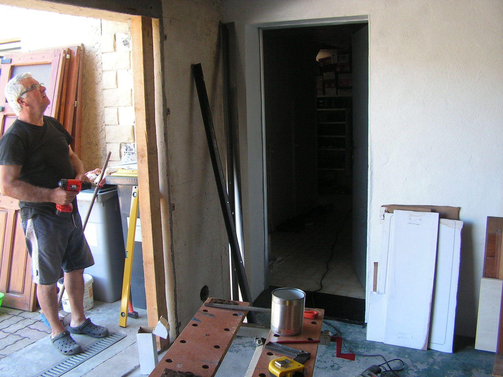 Une nouvelle porte de garage