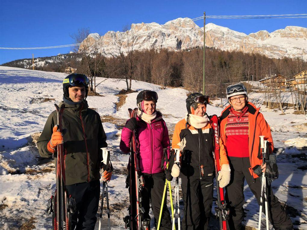 Skifahren in Cortina