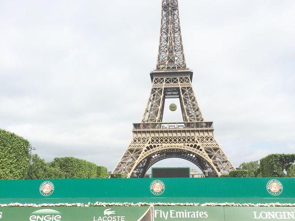 Notre journée à Roland Garros
