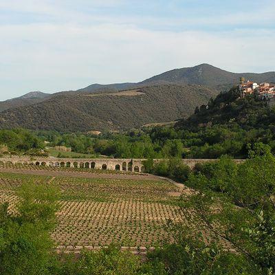 Balade dans l'Aude : aqueduc