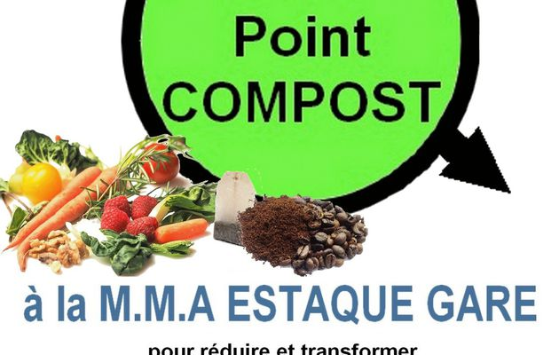 Point compost à l'Estaque Gare - Mode d'emploi