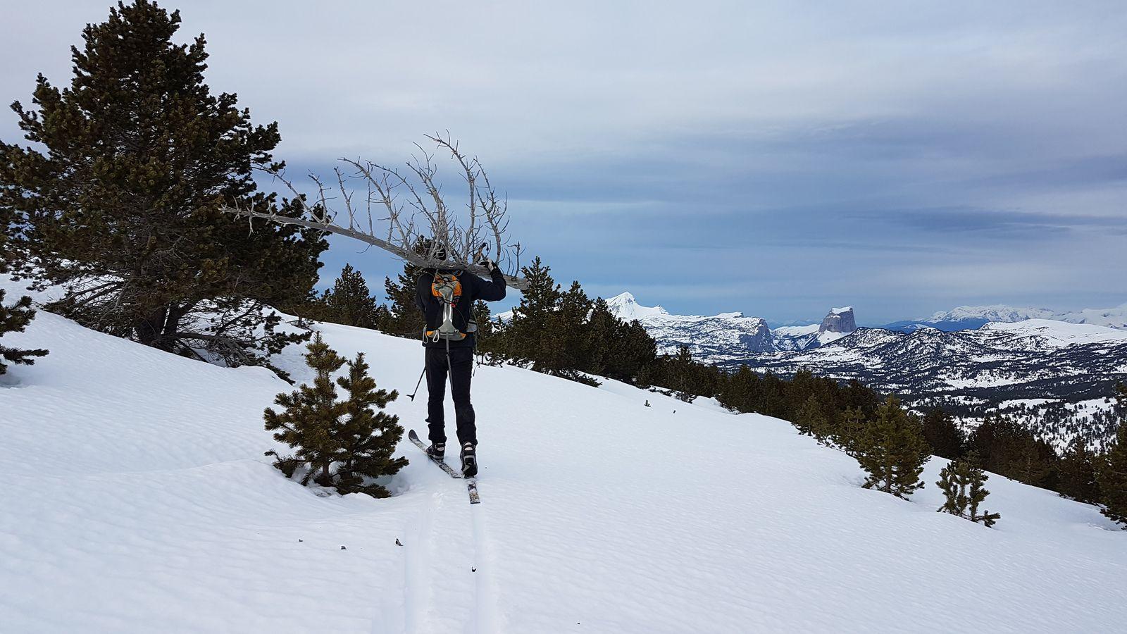 Trois jours d'itinérance sur les Hauts Plateaux du Vercors - 4, 5 et 6 février