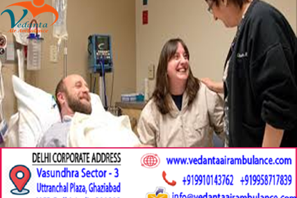 Demonstrated and approved medical dispatchers provider by Vedanta Air Ambulance from Bhopal