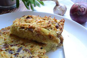 Gâteau de pommes de terre #végétarien