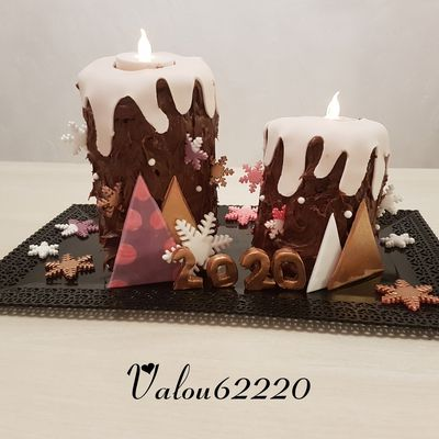 CANDLE CAKE HAPPY NEW YEAR