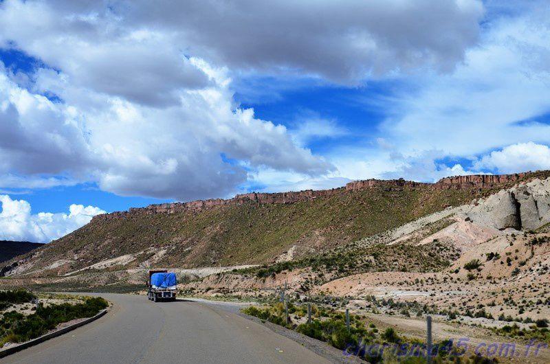 Tambo Quemado - Curahuara de Carangas  (Bolivie en camping-car)