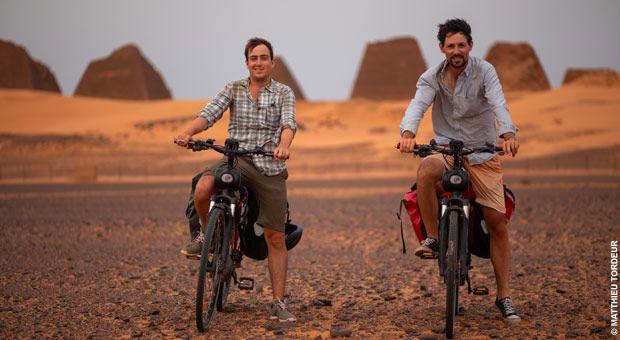 """""""Le Sahara en solex, documentaire inédit ce soir sur Ushuaïa TV"""