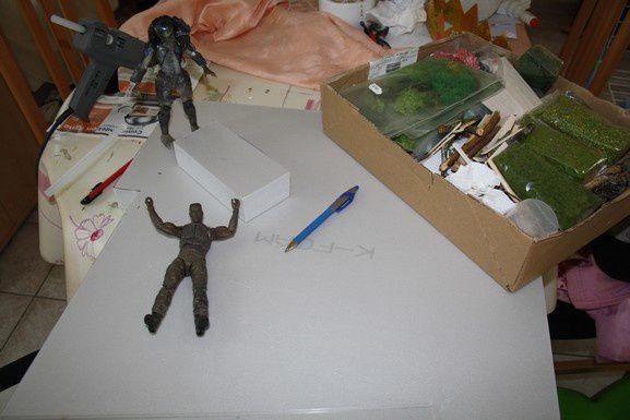 Diorama Predator ...plutôt que prévu !!