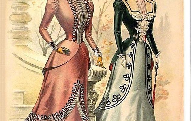 la mode en images à la Belle époque