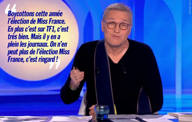 Laurent Ruquier tacle l'élection de Miss France ! (Vidéo) #ONPC