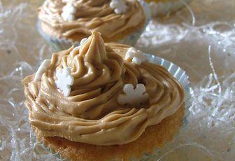 Mini cupcake vanille & spéculoos