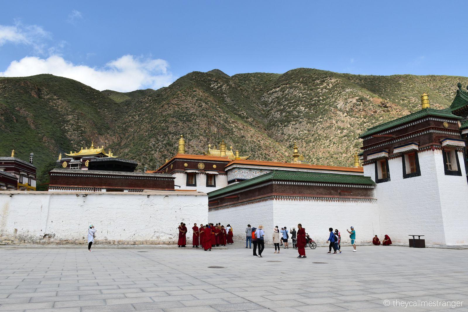 Le monastère tibétain de Labrang 拉卜楞寺, Xiahe夏河