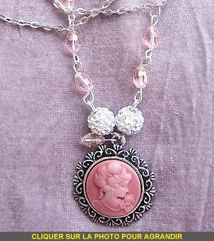 """► Collier """"Poudre Rosée"""""""