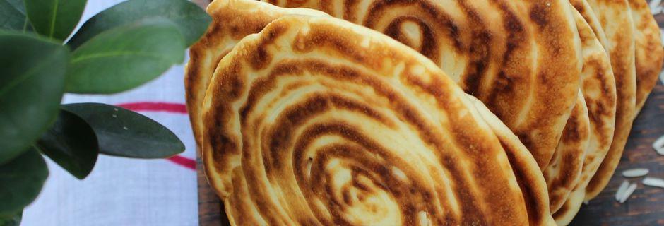 Pancakes à la Farine de Riz et au Lait de Coco
