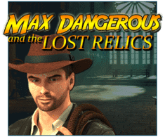 machine a sous mobile Max Dangerous and the Lost Relics logiciel Red Rake Gaming