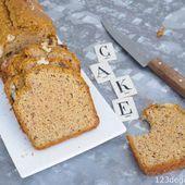 cake facile sans lactose courge et noisettes * 1,2,3...Dégustez !