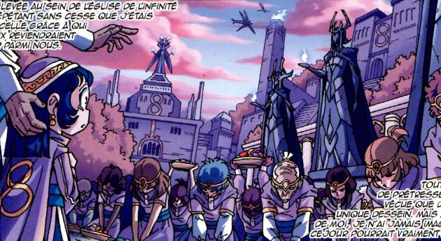 [IDL N°348] : L'Église de l'Infinité sera du côté des Dieux dans Les Légendaires - Résistance !