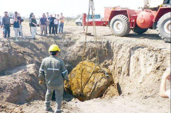 Une météorite de 29 tonnes