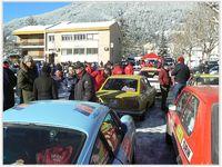31 janvier 2015 ,passage du rallye Monté Carlo Historique  à St André les Alpes