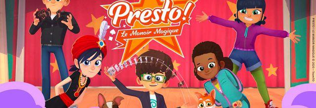 """""""Presto ! Le manoir magique"""", nouvelle série d'animation diffusée dès demain matin sur M6"""