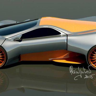 Concept car Benitez V12