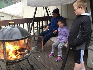 soiree famille le feu