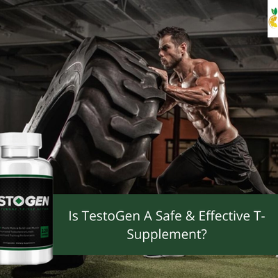 TestoGen Review - Is It Safe and Effective T-Supplement?