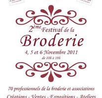 2ème Festival de la Broderie à Compiègne