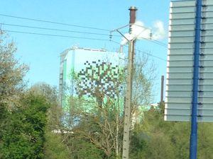 street art arbre sur charlotteblabla blog