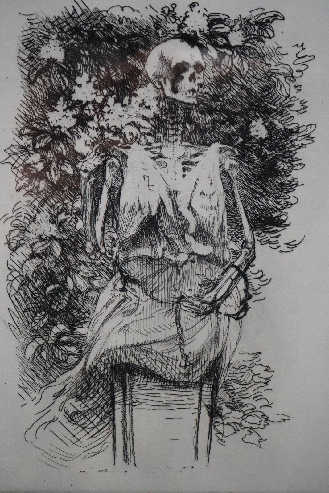 La Toussaint ou le squelette de la flore