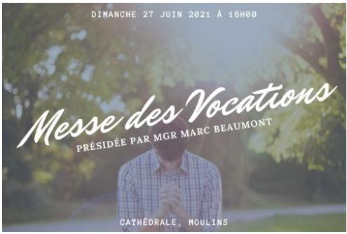 Messe des vocations à Moulins