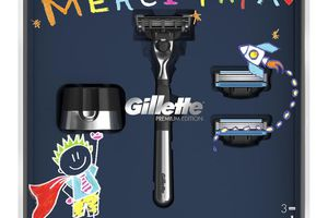 "Gillette lance son coffret ""Merci papa"""