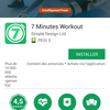 [Avis] L'application 7 minutes workout