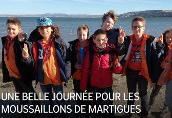 UNE BELLE JOURNÉE POUR LES MOUSSAILLONS DE MARTIGUES