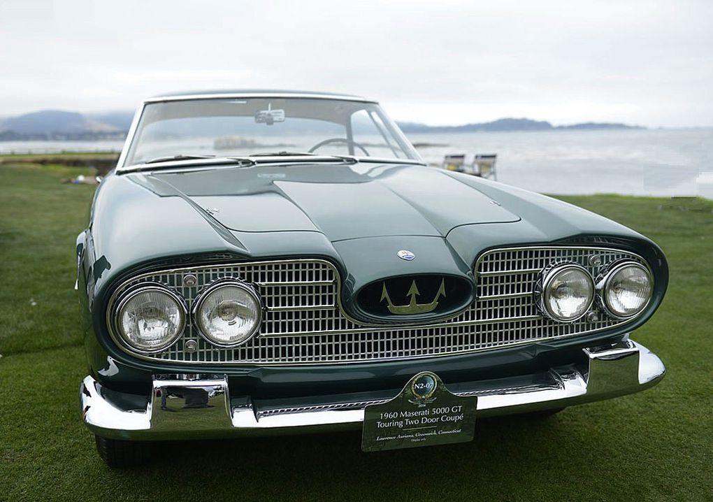 VOITURES DE LEGENDE (493) : MASERATI  5000 GT  TOURING COUPE - 1960