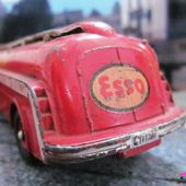 TRACTEUR PANHARD MOVIC SEMI REMORQUE CITERNE ESSO DINKY TOYS 1/60 - car-collector.net