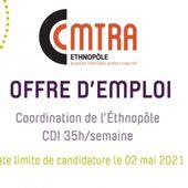 Offre d'emploi : Coordinateur/trice de l'Ethnopôle - CMTRA