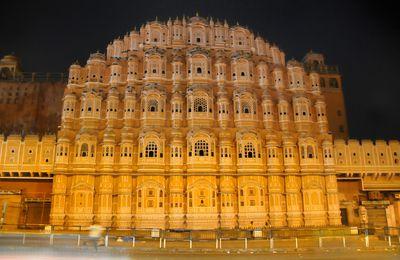 INDE : Jaipur, extravagante ville rose !...